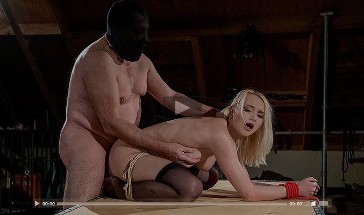 The Passion Of A Blonde Slave