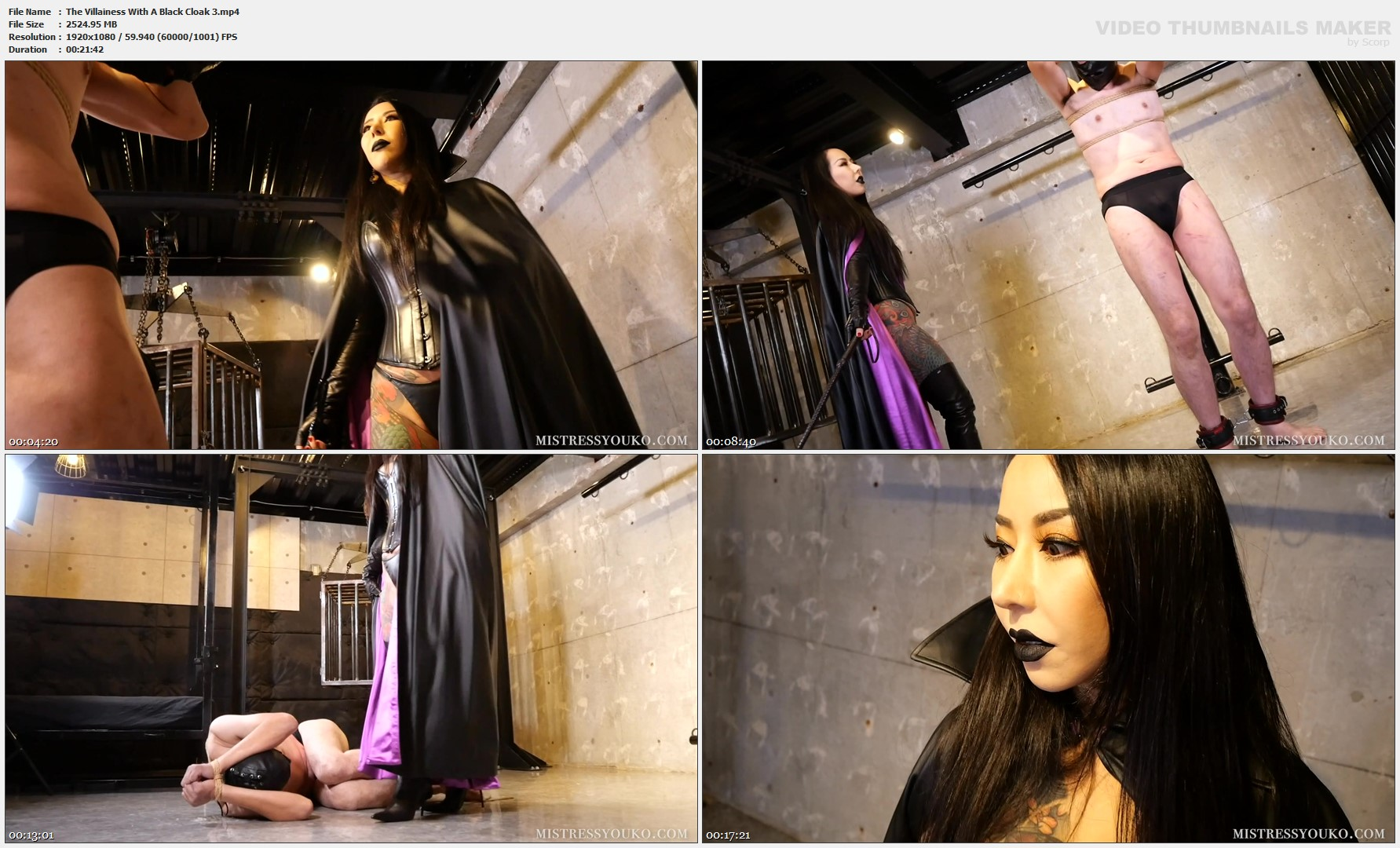 The Villainess With A Black Cloak 3